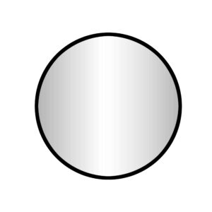 """Best-Design """"Goslar-Nero"""" ronde spiegel Ø 100 cm"""