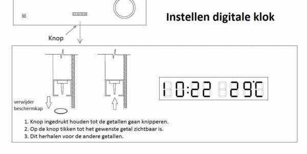 Best-Design Spiegel technische tekening klok 3