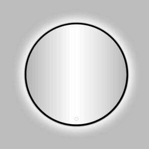 """Best-Design Nero """"Venetië"""" ronde spiegel zwart incl.led verlichting Ø 60 cm"""