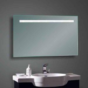Badkamerspiegel Fiona 100x80cm Geintegreerde LED Verlichting