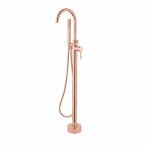 """Best-Design """"Lyon"""" Vrijstaande badkraan rosé-mat-goud"""