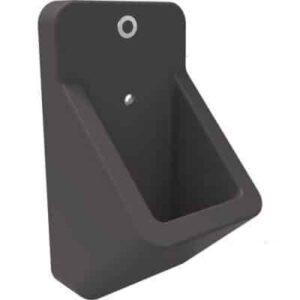 Urinoir Mat Antraciet Met Geïntegreerde Sensor Werkt Op Batterij