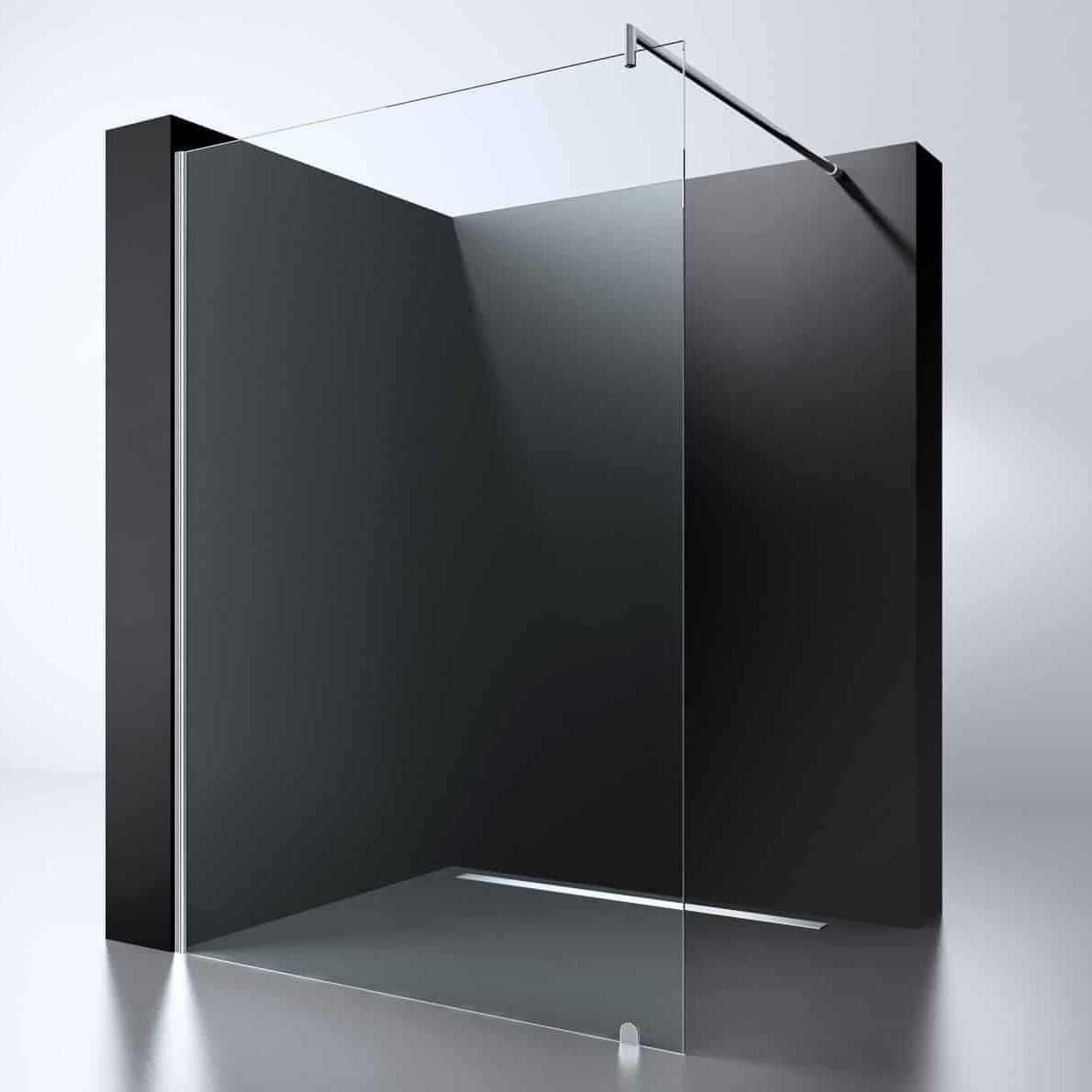 "Best-Design ""Erico 1200"" inloopdouche 120 cm NANO 8mm glas"