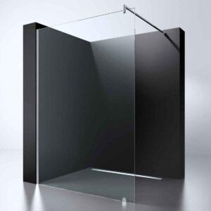 "Best-Design ""Erico 1400"" inloopdouche 140 cm NANO 8mm glas"