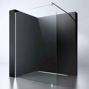 "Best-Design ""Erico 500"" inloopdouche 50 cm NANO 8mm glas"