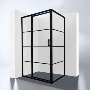 """Best-Design Douchecabine """"Zeplin-1400"""" met nisdeur 1400x900X2100X8mm"""