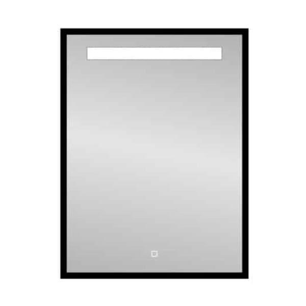 "Best-Design Nero ""Black-Miracle"" LED spiegel B=60 x H=80cm"