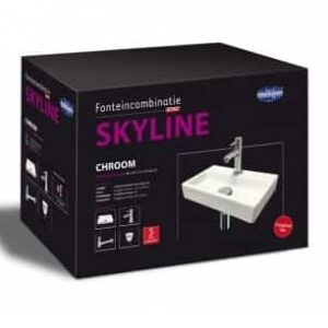 "Best-Design fonteincombinatie ""Skyline"""