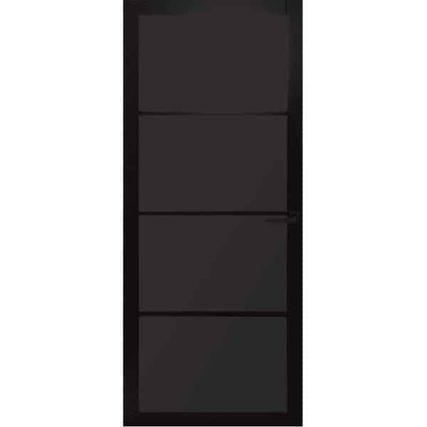 Binnendeur Nero Legno Desio stomp gegrond zwart