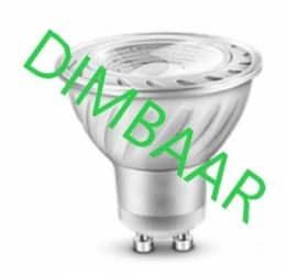 LED GU10 5Watt 6000K Dimbaar