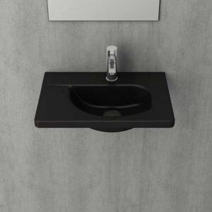 Wastafel Bocchi - Mat zwart sfeerfoto