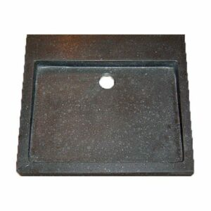 Wastafel Opbouw Lot Rechthoek 50x45x6cm Limestone Blue