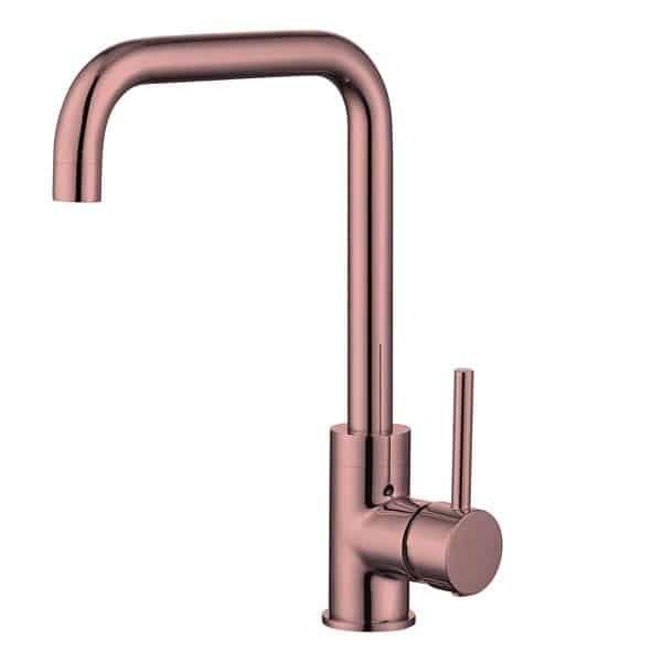 """Best-Design """"Marseille"""" Keukenmengkraan H=32 cm rosé-mat-goud (1)"""