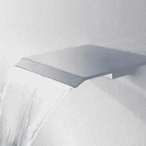 "Best-Design ""Dule-Ore-RVS-304"" waterval muuruitloop tbv.douche en bad"