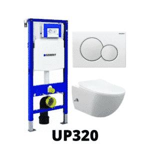 UP320 compleet inbouwreservoirset