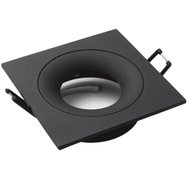 GU10 Armatuur Fitting Square Black Lumention