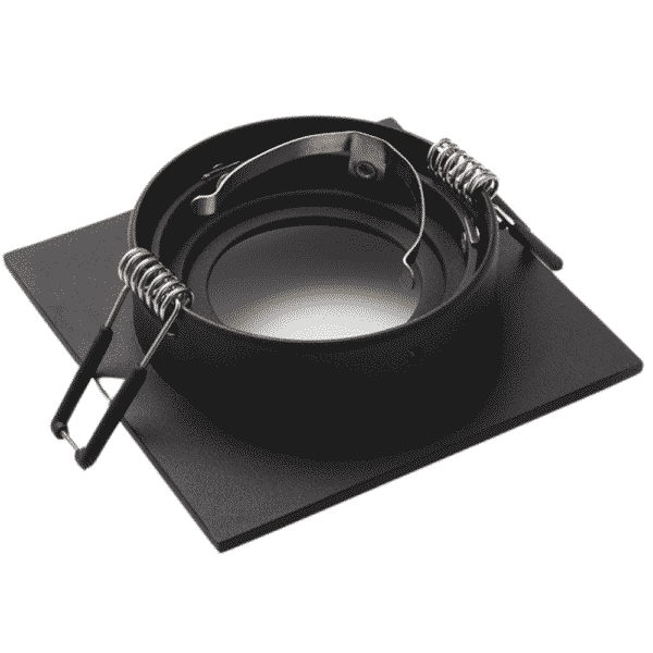 GU10 Armatuur Fitting Square Black Lumention 2